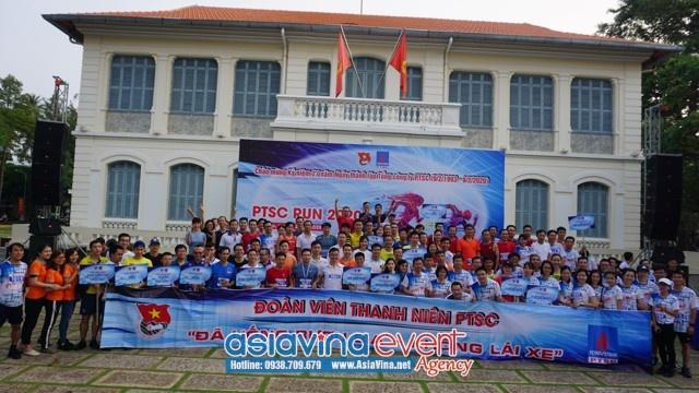 PTSC RUN lần thứ Nhất - 2020 - Tuổi trẻ PTSC rèn luyện thể dục thể thao theo gương Bác Hồ vĩ đại
